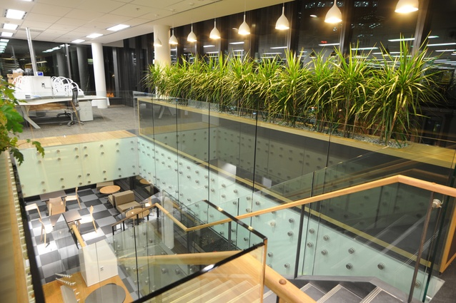 BNZ 80 Queen Street, Auckland. BNZ has shown leadership by consistently using Green Star – Interiors to prove their buildings performance.