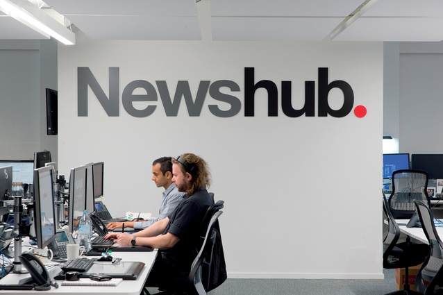 Transparency and a brand-first focus are drivers of the modern workplace, and the Newshub premises is no exception.