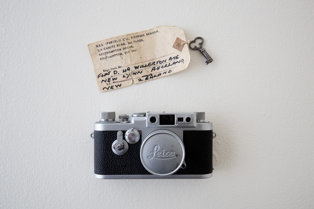 """Leica camera: """"This belonged to my grandfather who captured our childhood on it and processed each image by hand. It now has pride of place in my kitchen."""""""