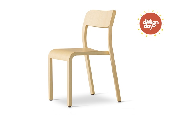 The beautiful Blocco chair in natural Ash. RRP $994; backhousenz.com