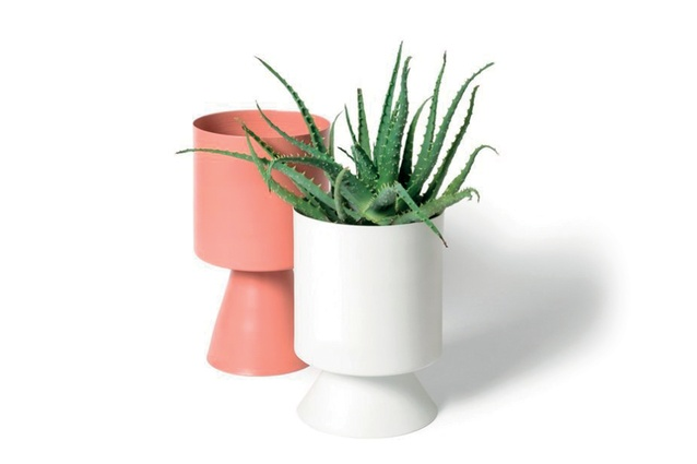 """Palm Springs Planter/Vessel   $149 each from <a  href=""""http://collected.co.nz/products/lightly-palm-springs-planter-vessel-large-clay-grey-white?variant=28469845831"""" target=""""_blank""""><u>collected.co.nz</u></a>"""