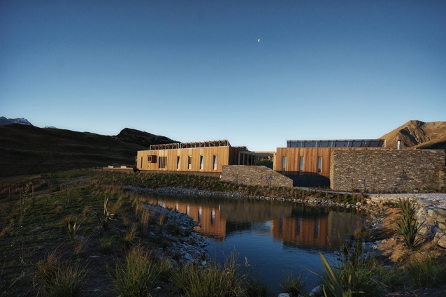 Commercial Architecture category winner: Aro Hā retreat by Tennent Brown Architects.