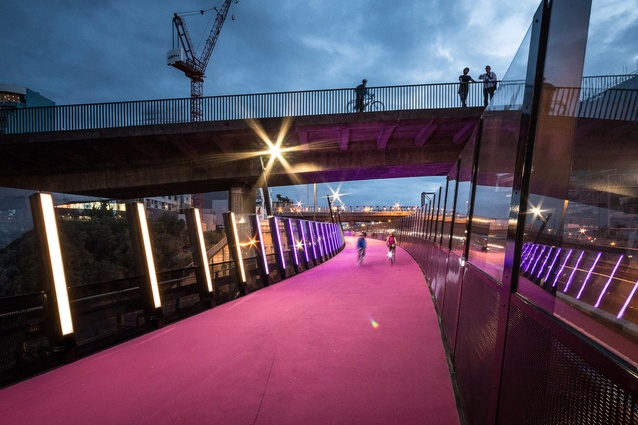 Planning & Urban Design Award: #LightPathAKL, central Auckland by Monk MacKenzie and LandLAB, in association.