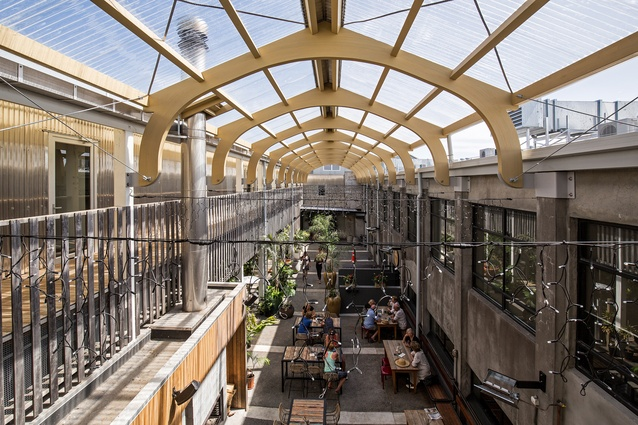 Commercial Architecture Award: White Hart Hotel Complex by Atelierworkshop.