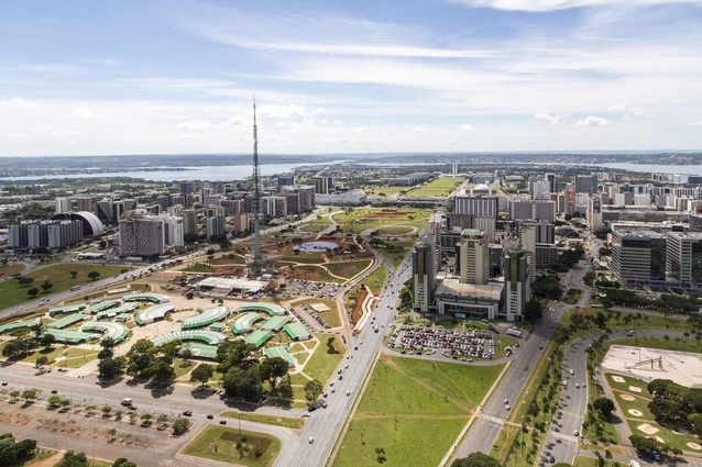 Brasilia was designed in the late 1950s. Lucio Costa was appointed as planner, working with Oscar Niemeyer, Brazil's most acclaimed architect, and landscape designer Robert Burle Marx.