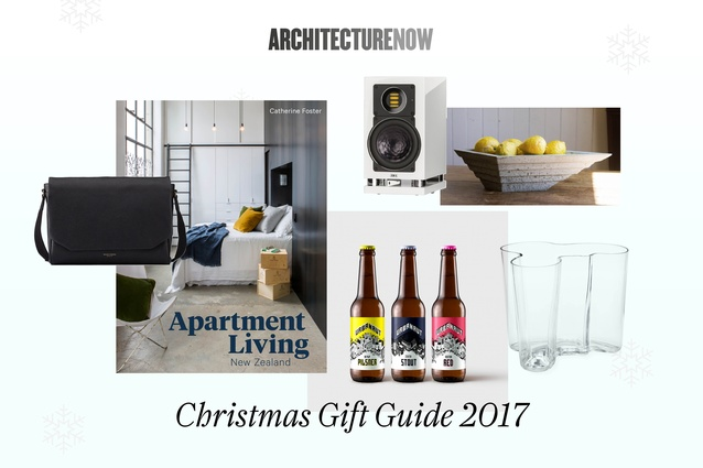 <em>ArchitectureNow</em> Gift Guide 2017: scroll through the images above and follow the links under each for more information on each item.