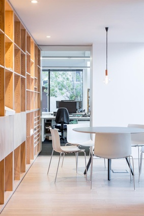 Finalist: Workplace up to 1,000m<sup>2</sup> – Sheppard & Rout Studio (Christchurch) by Sheppard & Rout Architects.