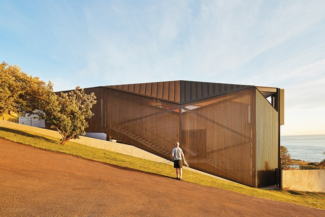 Privacy and openness: Coogee House