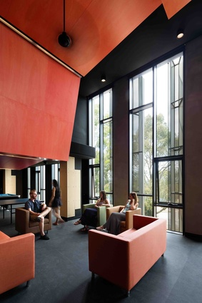 Holman Hall, Monash University by Hayball and Richard Middleton Architects.