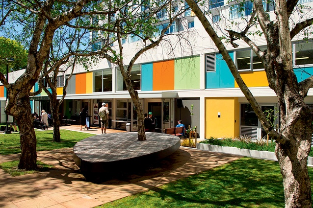 After 50 years, the Central Park Apartments was in need of a major overhaul, working closely with Wellington City Council and Dunning Thornton, Novak+Middleton provided architectural  and structural strategies to breathe fresh life into the complex.