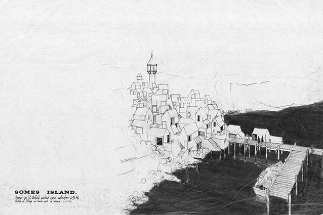 Somes Island – unbuilt work.