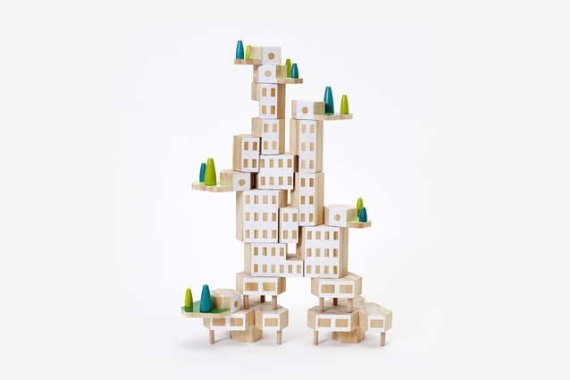 "<a href=""https://www.areaware.com/collections/bestsellers/products/blockitecture-1?variant=48392218884"" target=""_blank""><u>Blockitecture by James Paulius</u></a> is a set of architectural building blocks that offers a way to build cities, dwellings and towers exactly the way you want, no consents required."