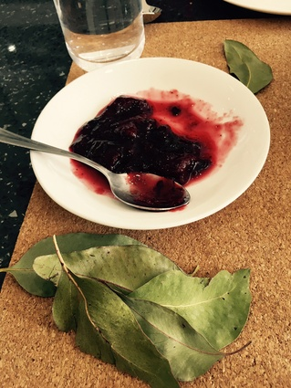 A delicious plum jam scented with strawberry gum leaf.