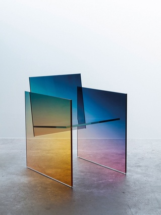 Ombré Glass Chair by Studio Germans Ermics.