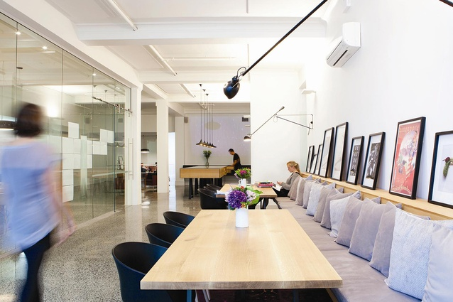 Finalist: Workplace – Designworks Auckland Office by Designworks.