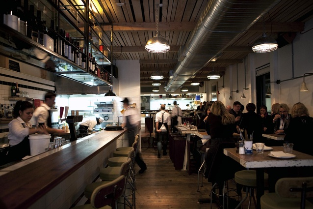 Depot Eatery by C Nott Architects.
