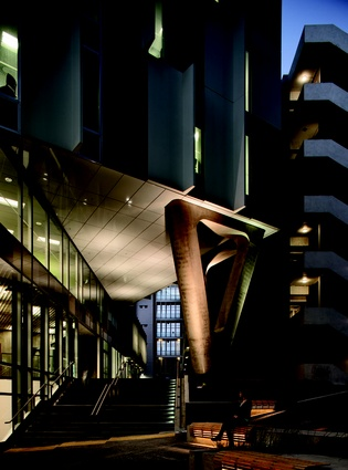 AUT Sir Paul Reeves Building by Jasmax was a winner in the Education and Planning and Urban Design categories.