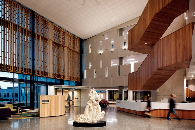 Foyer Architecture Website : Te whare toa takitini burwood hospital architecture now