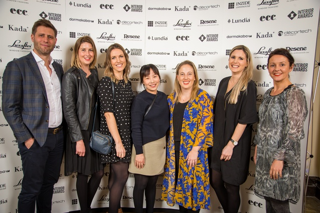 Harry Rowntree, Anna Kane, Rosie Taylor, Hyunsoo Song, Alice Dalton, Meg Rowntree and Anna Parbury (Unispace).
