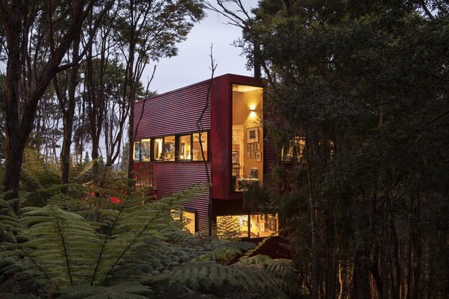 Housing category finalist: Red House, Auckland by Crosson Clarke Carnachan Architects.