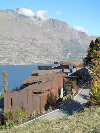 Housing category finalist: Copper House, Queenstown by Anna-Marie Chin Architects.
