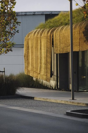 Small Project Architecture category finalist: Te Kaitaka - 'The Cloak', Auckland by Fearon Hay Architects