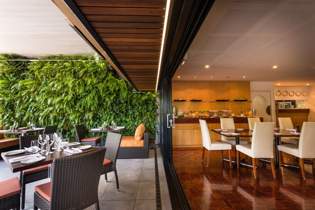 50 Bistro at The George, offering relaxed dining with inspired flair, excellent wines and a great bar.