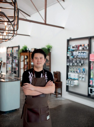 Co-founder and director Guang Han.