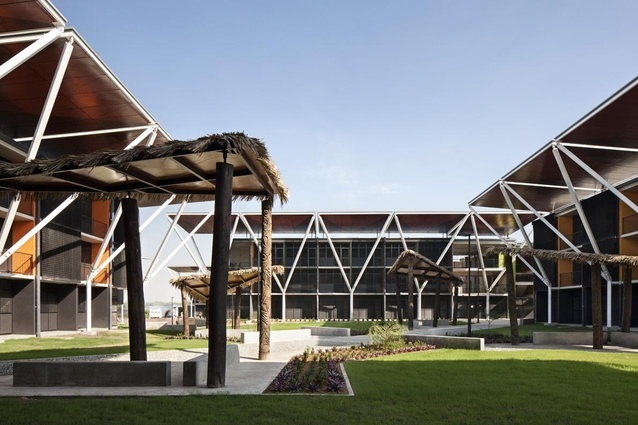 Finalist: Completed Buildings (Housing): XV Pacific Games Village (Papua New Guinea) by Warren and Mahoney Architects.