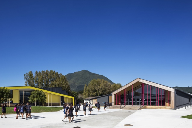 Education category finalist: Tarawera High School, Kawerau by RTA Studio.