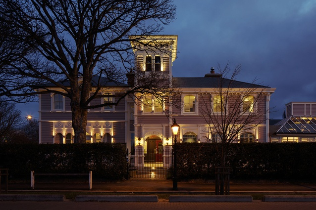 Heritage category finalist: The Christchurch Club by Warren and Mahoney Architects.