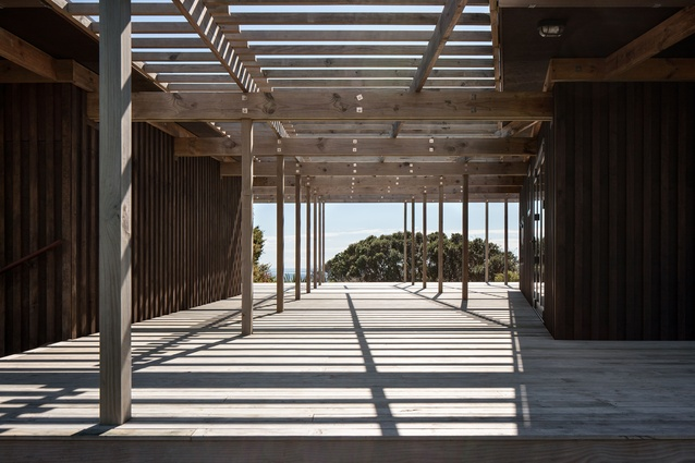 Finalist in the Resene NZ Wood Timber Design Awards 2017: Langs Bach by ARK.