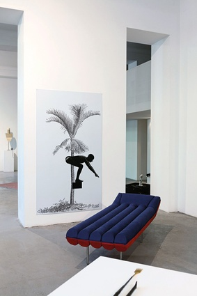 Blow chaise longue by Emanuele Magini for Gufram.