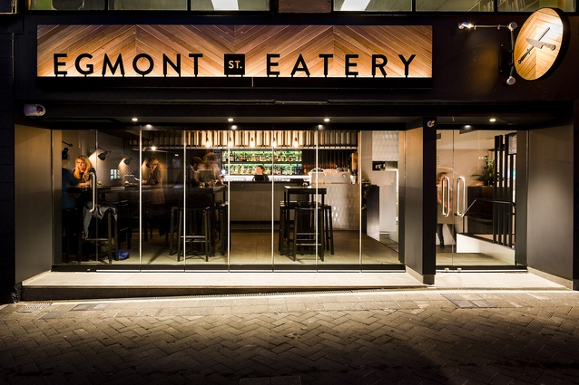 Hospitality & Retail Award: Egmont Street Eatery by Foundation Architects.