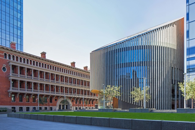 City of Perth Library and Public Plaza (WA) by Kerry Hill Architects.