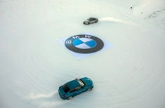 BMW x Novelnyt: Hot on ice