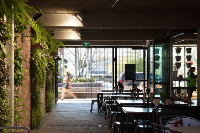Hospitality & Retail category winner: Fortieth & Hurstmere, Auckland by McKinney + Windeatt Architects.