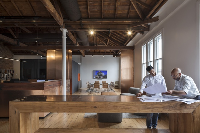 Interior Architecture winner: Peddle Thorp Offices, Britomart by Peddle Thorp.