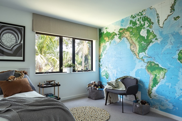 The children's rooms have both been decorated to reflect the children's personalities, with Nico opting for an 'adventurer' theme.