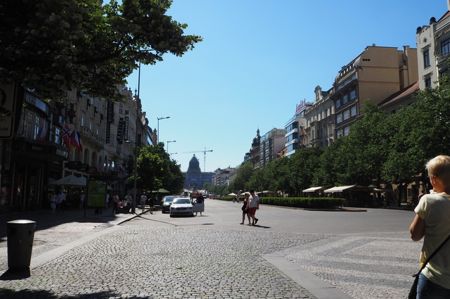 Designed as a city for trade, Prague's primary circulation is clearly defined for ease of transport.