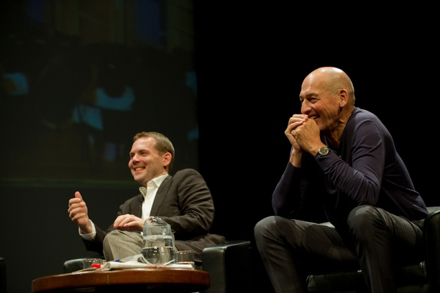 David Gianotten and Rem Koolhaas.