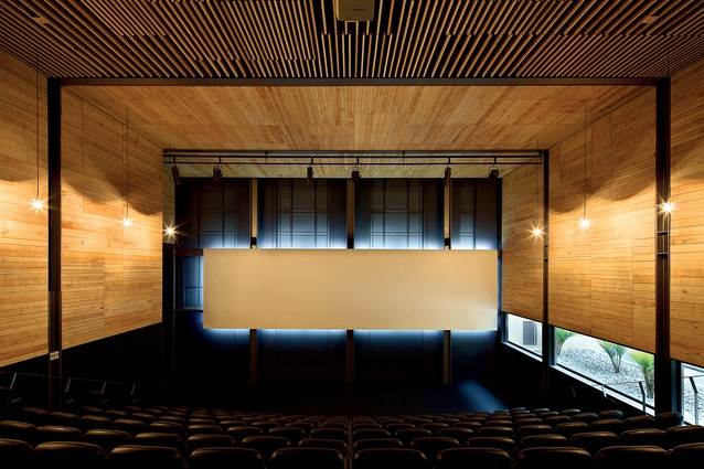 Interior of the City Gallery extension, Wellington, designed by architecture +.